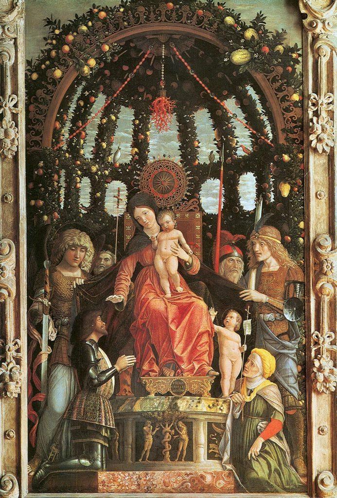 Virgin of Victory, Andrea Mantegna, 1496