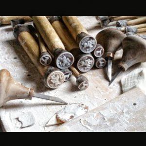 Making of Sardonyx shell cameo
