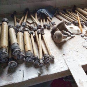 handmade shell cameo workshop